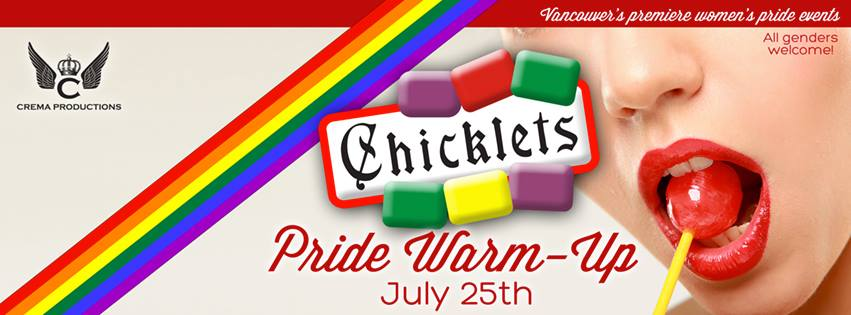 chiclets warm up