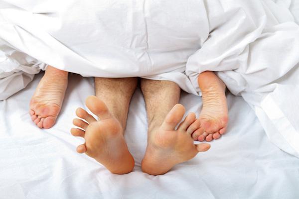 Couple having sex - woman on top