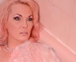Pink Bathing Beauty 55