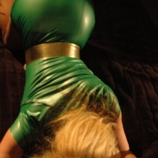 velvet-steele-green-latex-dress-06