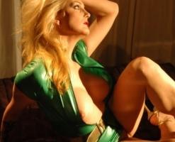 velvet-steele-green-latex-dress-05