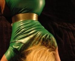 velvet-steele-green-latex-dress-06